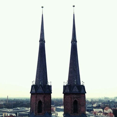Hausmannstürme, Halle (Saale). Two Towers Church