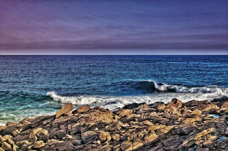 Sea Beach Water Horizon Over Water Scenics Sky Nature Beauty In Nature Outdoors No People Pebble Day Pebble Beach Wave
