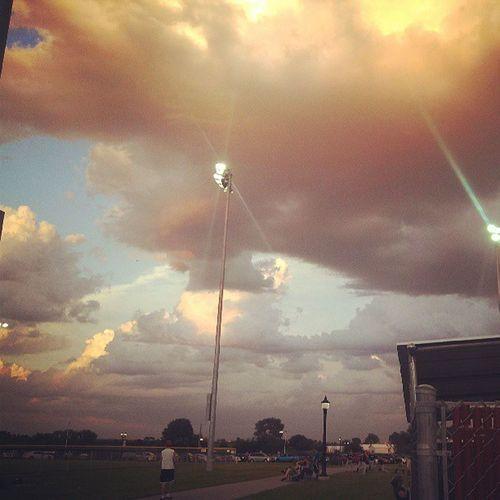 Weird looking clouds!