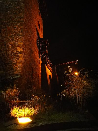 Night Outdoors No People Castle