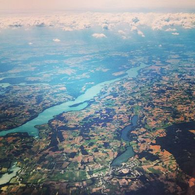 ~ Blue Ribbon ~ Landscape Landscapephotography Instaflight Fromtheplane Flying Throughthewindow Instagood Instadaily Instalike Instafollow Blue Clouds CloudPhotography
