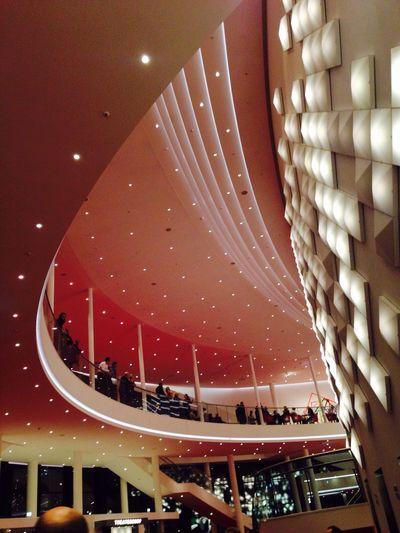 Theatre Ceiling Premiere Lights Architecture