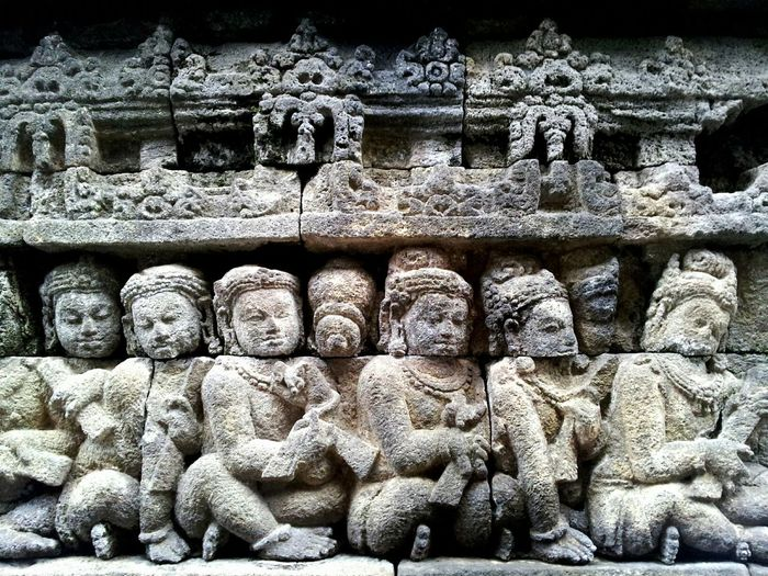 Buddhist carvings on borobodur temple Buddha Buddhism Borobudur Borobudur Temple INDONESIA Eye4photography  EyeEm Best Shots EyeEmBestPics EyeEm Gallery EyeEm Eyeemindonesia Mobilephotography Peace Andrealsy