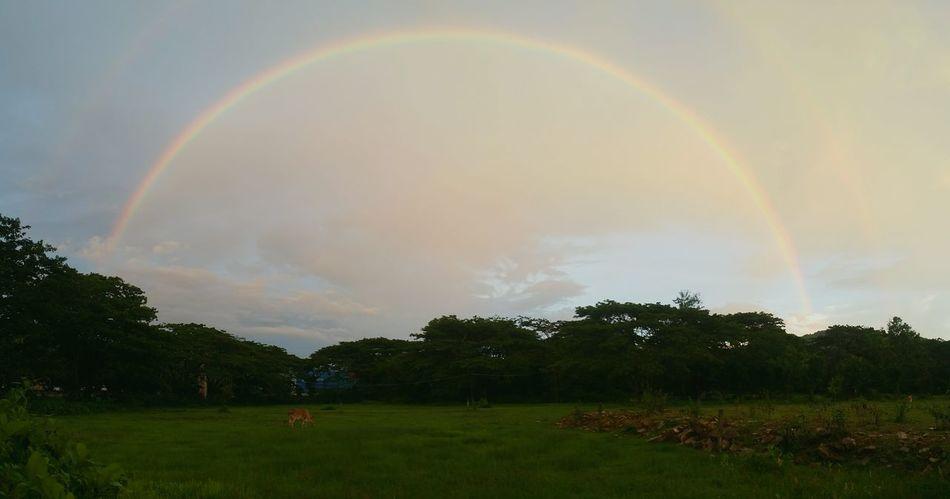 😊 Nature Clouds And Sky Thailand Cloud Rainbow Sky Sunset Panaroma