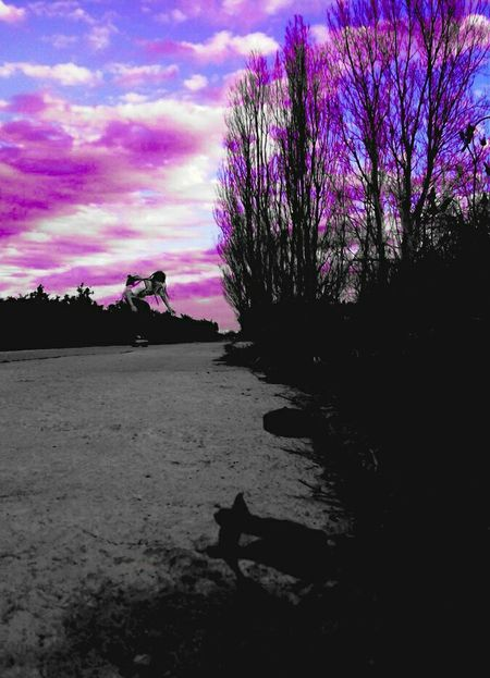 MyPhotography Clouds And Sky Fresh Air Skate Happytime Valencia Landscapes Psicodelic