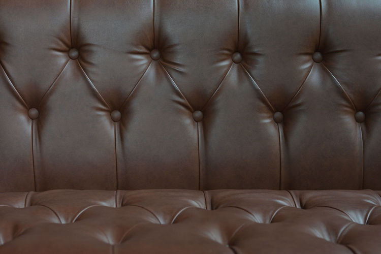 Full frame shot of sofa