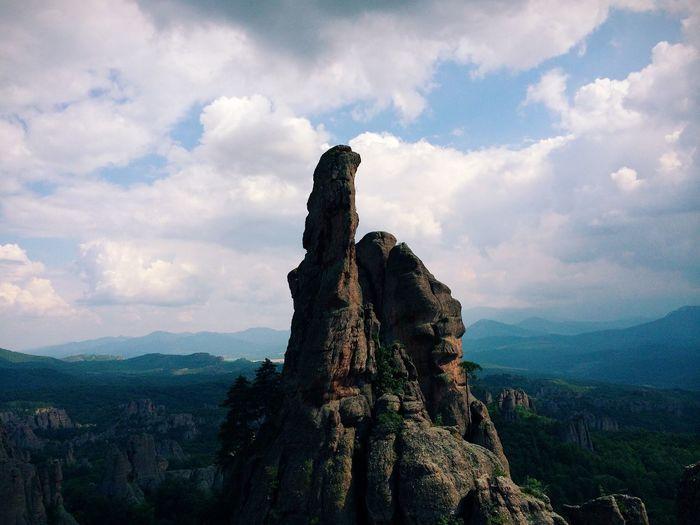 Belogradchik ManolValtchanov Balkan Bulgaria Rocks Mountains Summit