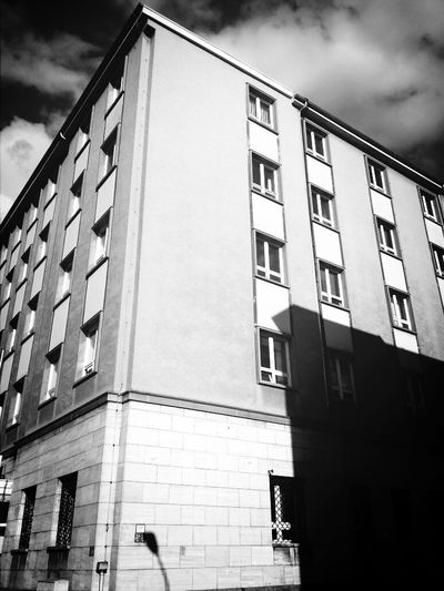 Gera Blackandwhite Streetphotography Architecture