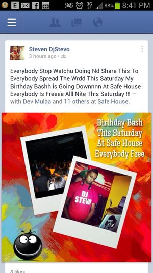 Party Party Party This Saturday