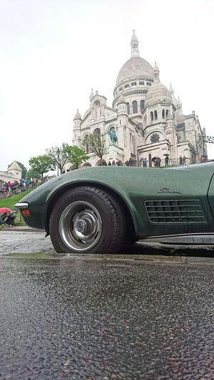 Corvette CorvetteStingray Montmartre Sacre Coeur