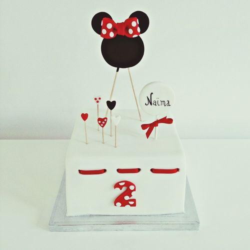 🐭 SugarSugarNantes Mickey Disney Cake