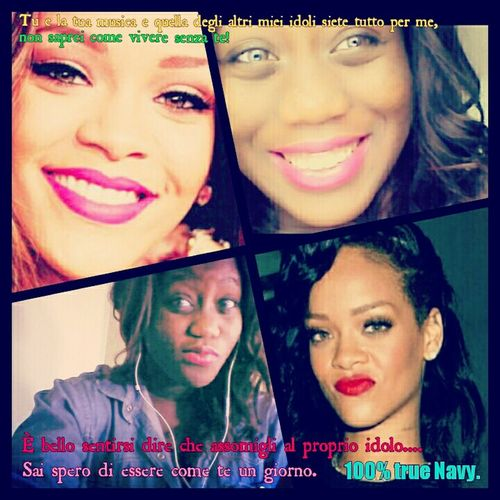 Hi people Loveeeee youu! by Sweet Destiny Love Rihanna Navy Rihanna Sister