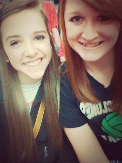 Game last night with the bestie. <3