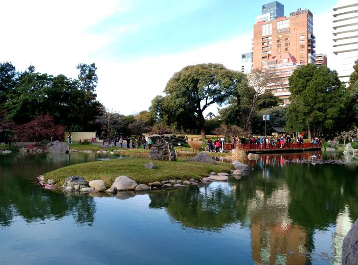 Landscape_photography Water Reflections Quiet Places Beauty In Nature Buenos Aires, Argentina  Jardinjapones City Life Nature Photography Treescollection