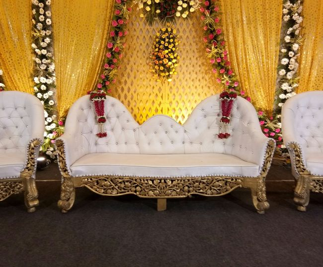 Waiting for special couple Indoors  Close-up No People Day Wedding 👫