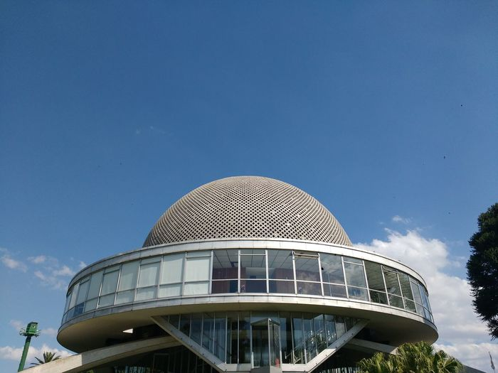 Look At The Sky EyeEm Gallery Eye4photography  EyeEm Best Shots Galileo Galilei Planetario Planetarium Sky colour of life Colors Colorful Buenos Aires, Argentina  Argentina Photography Modern Politics And Government Dome Sky Architecture Built Structure Museum Destinations Exhibition