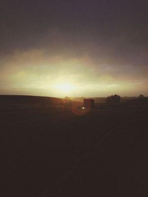 Good Morning Running Denmark Sunrise