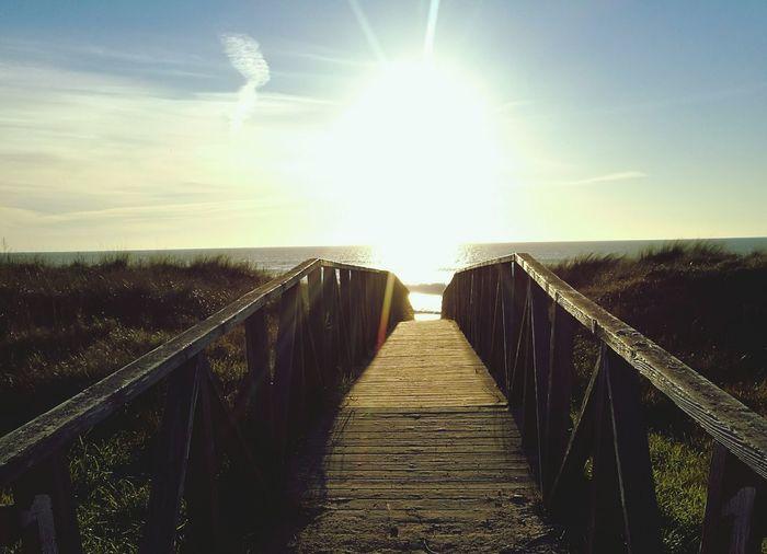 Puente Pasarela Hacia La Vida Nature Beauty In Nature Elpalmar Sea Scenics Life Love Life Is A Beach Colors