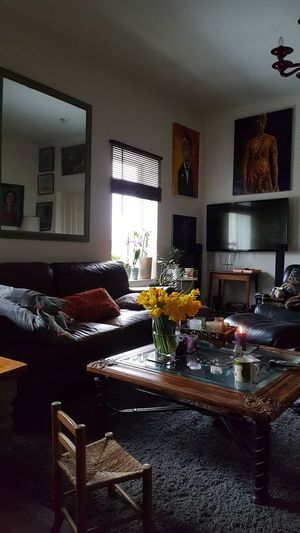 Art Studio Indoors  Home Interior Living Room Window No People Domestic Room Table Home Showcase Interior Day Architecture Chair