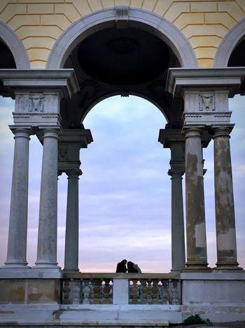EyeEm Selects Arch History Architecture Built Structure Sky Day Outdoors Vienna Schönbrunn Sunset Sommergefühle Your Ticket To Europe