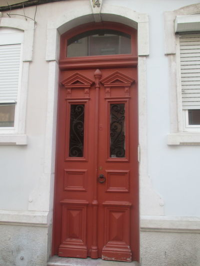 #old Building #old Building In Lisbon Architecture Beautiful Entrance Brown Door Brown Woodden Door Building Exterior Built Structure Close-up Closed Closed Windows Day Door Entrance Entrance Door Entry House No People Old Architecture Old Door Old-fashioned Outdoors Protection Safety Wood - Material