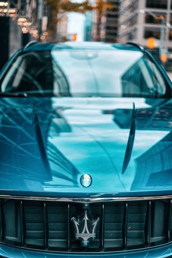 Maserati Luxury MASERATI Mode Of Transportation Transportation Car Motor Vehicle Land Vehicle Reflection Architecture Glass - Material City Travel Day Windshield Street Protection Built Structure Building Exterior No People Outdoors