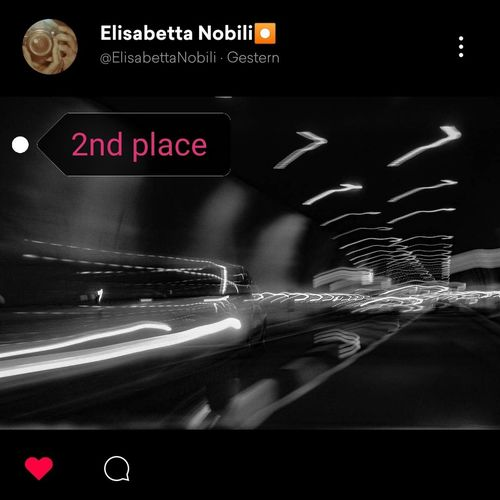 2ND PLACE...very surrealism shot. I love the motion in these scene. Great work @ElisabettaNobili. Thank you so much and congrats. Bnw_friday_eyeemchallenge Bnw_longexposure