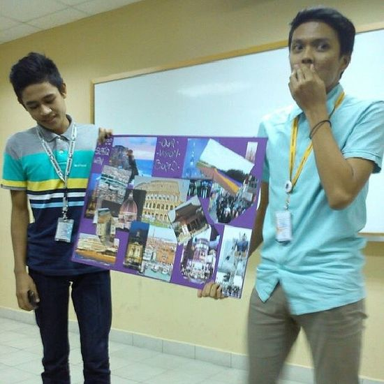 Throwback Assignment Presentation Visionboard Interpersonalskills.