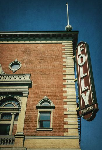 KC's FOLLY ~ Kansas City, Missouri ~ Marquee Theater Cityscape Dreamscapes & Memories Vintage Signs At The Crossroads
