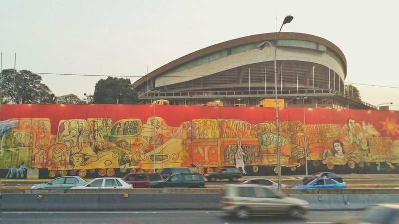 Muro de Zapata. Uno de los iconos de Caracas. Streetphotography Streetphoto_color Zapata  ArtWork Mural Art Mural Venezuela Caracas City