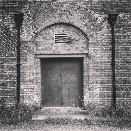 Ancient Monument Arch Architecture B&w B&W Collection B&w Photography Brick Wall Built Structure Closed Day Defensive Fighting Position Defensive Structure Deterioration Entrance Exterior Façade Fortifications Grass Hilsea Lines Hilsea Lines Ramparts No People Old Outdoors Ramparts The Castlemate