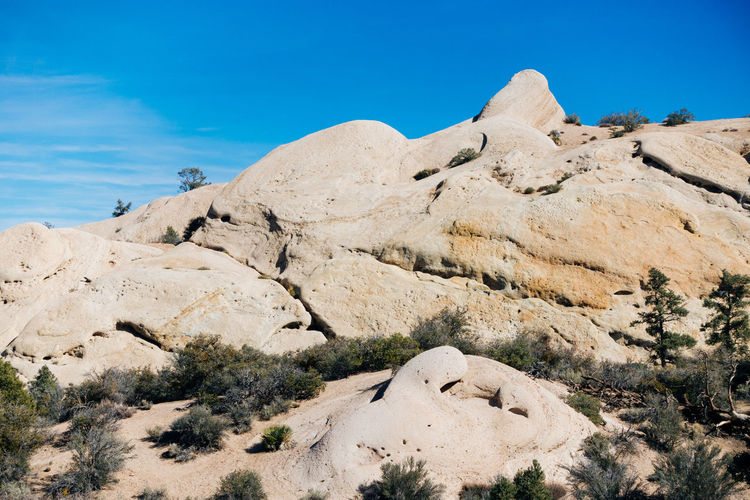 Rock Formations At Angeles National Forest