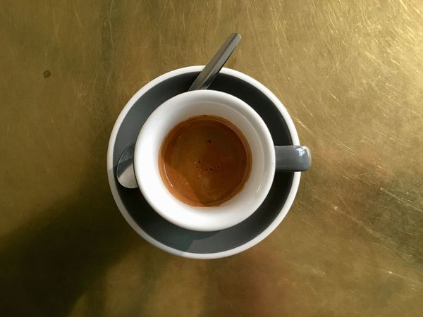Espresso Close-up Coffee - Drink Coffee Cup Day Drink Food And Drink Freshness High Angle View Indoors  No People Refreshment Saucer Table