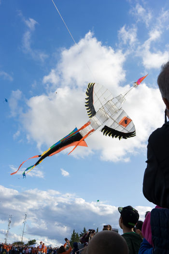 Colors Kite Cloud - Sky Day Flying Kite Competition Kite Flying Outdoors Sky