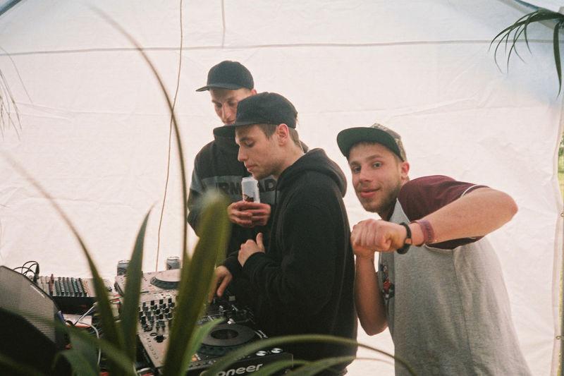 35mm Film Dj Family Filmisnotdead Friendship Leisure Activity Lifestyles Mid Adult Men Party Techno