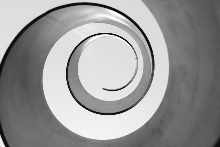 Abstract Blackandwhite Circle Close-up Design Fujifilm Geometric Shape Scupture Shape