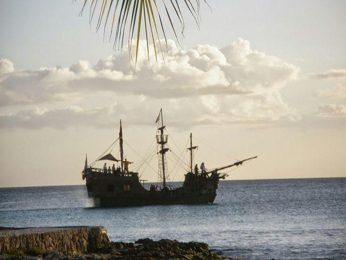 Caravel Ship Beach Dominican Republic La Romana
