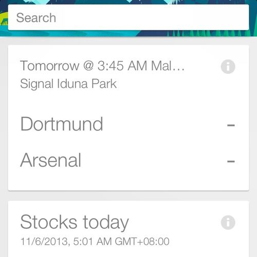 Google Now just keeps getting better and better Coyg