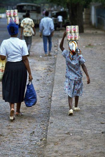 Full length of people walking