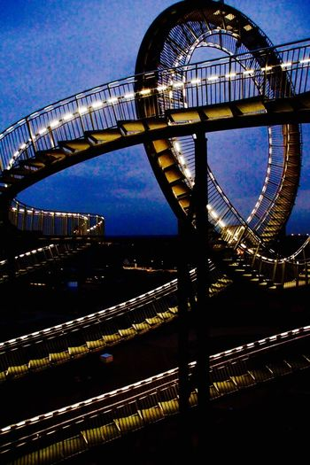Throw A Curve Tiger & Turtle Duisburg Tiger & Turtle Rollercoaster Industry Ruhrgebiet