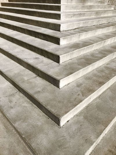 Full Frame Backgrounds Architecture Pattern No People Steps And Staircases Steps Built Structure Pyramid Building Exterior Day Outdoors Close-up Idaho Concrete Capitol Boise Capital Patterns Stairs Low Angle View Balance Textured