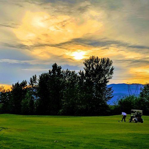 Golden Golfing