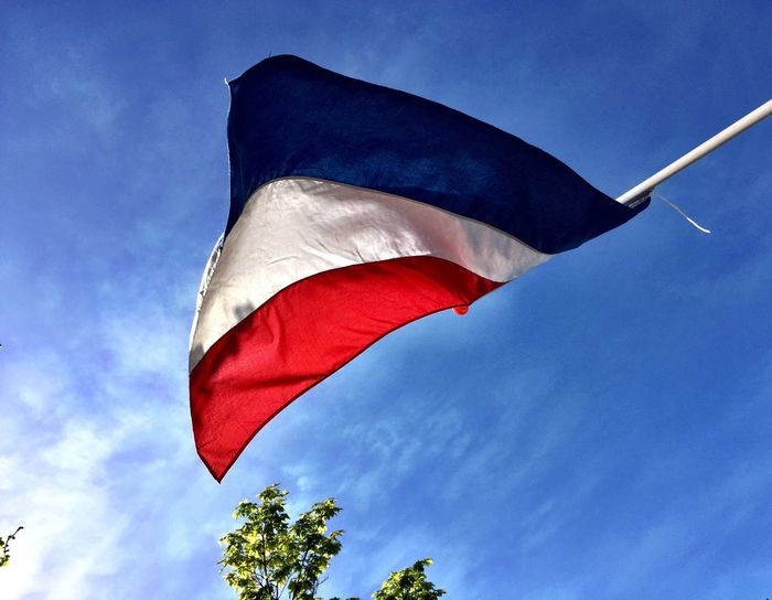 Celebrating living in Freedom! Freedom Celebration Happy 5th May Happy :) Flag Red White Blue Netherlands Liberationday Colour Of Life