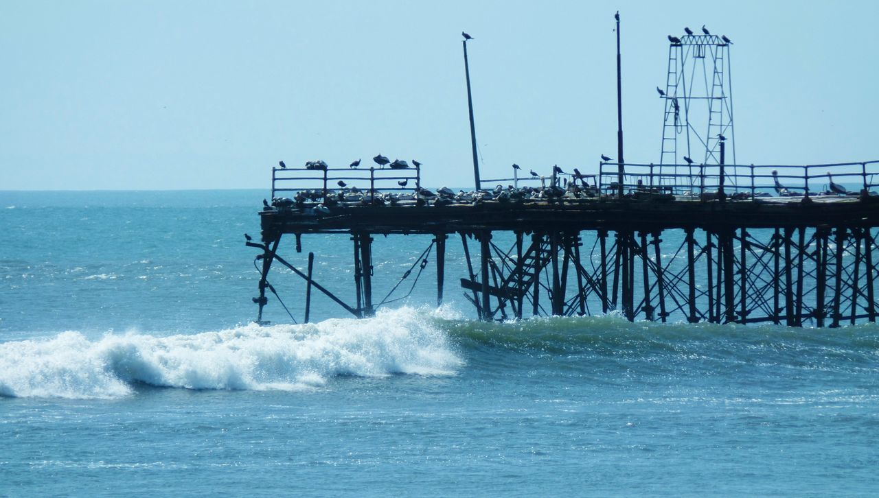 Architecture Beauty In Nature Built Structure Mar Muelle Nature Oceano OceanPacific Pacasmayo Power In Nature Sea Water