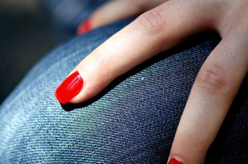 My Love's hand