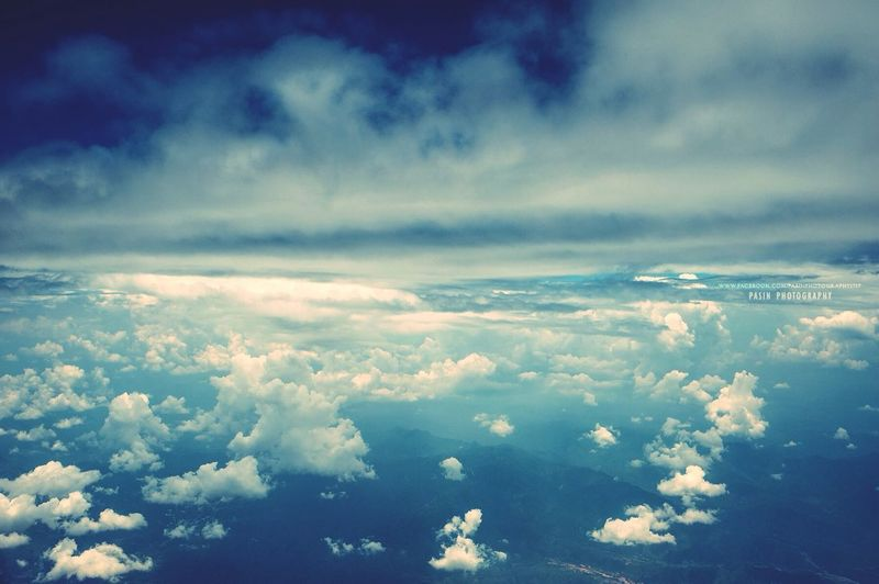 ...The sky... On A Break