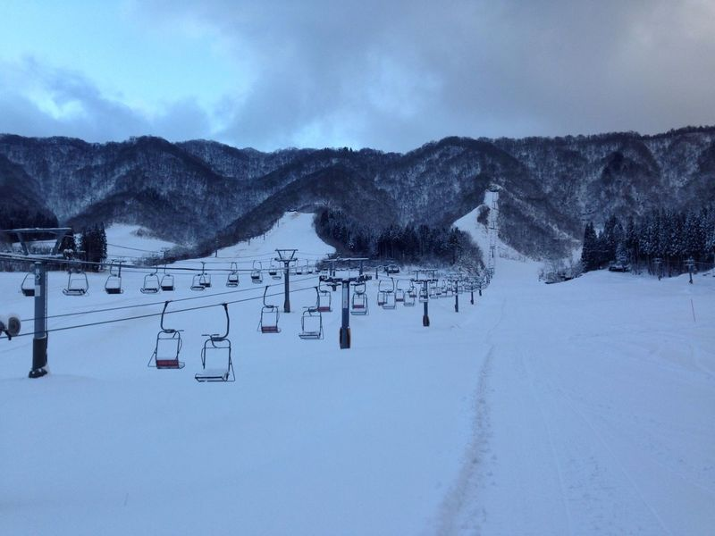 Snow ❄ Winter Scenes Winter Ski Skiing ❄ Ski Park Japan Snow Views Lift