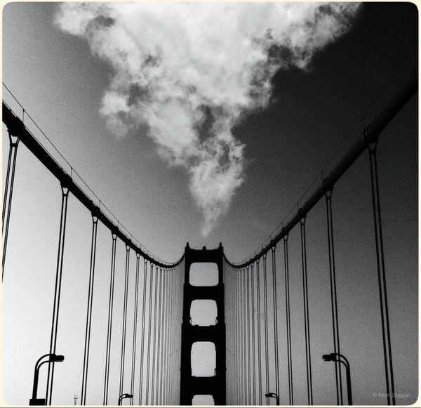 Curious Cloud & Golden Gate Bridge ... (iPhone Composite)