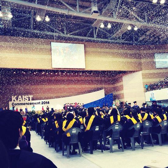 졸업식!!!! 이제 진짜 끝ㅜㅜ