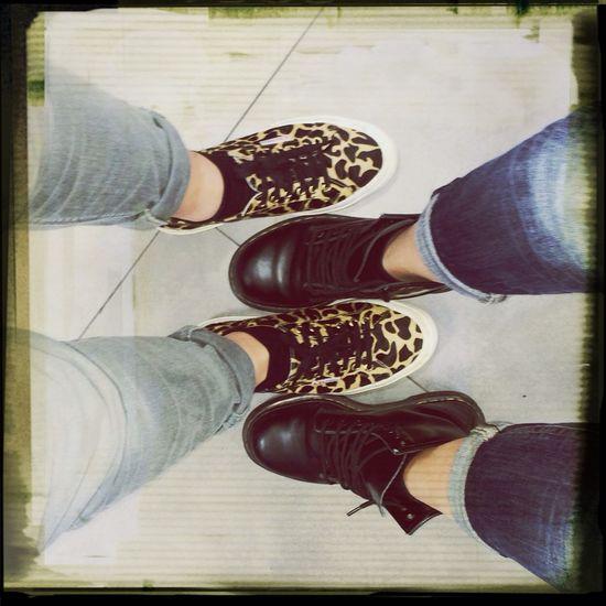 Shoes Animalier Anfibi Superga